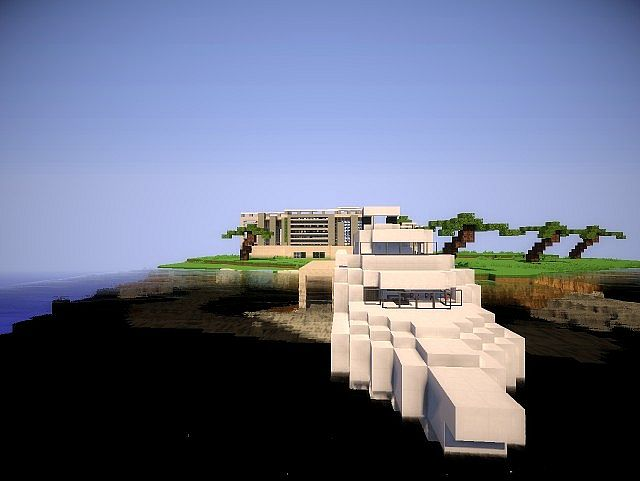 modern houses storm island moderne h user sturm insel minecraft project. Black Bedroom Furniture Sets. Home Design Ideas