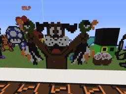 Duck Hunt Dog (pixel art) Minecraft Map & Project