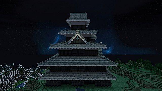 Matsumoto Castle. Dokucraft Light