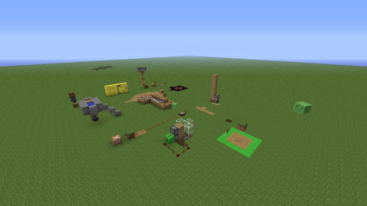 minecraft redstone projects Minecraft: how to make a  entirely underground construction automatic lighting system minimalist modern style redstone-powered lights and doors included set of.