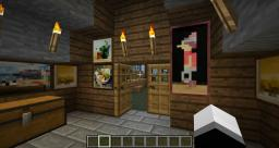 Survival Starter House. Minecraft Map & Project