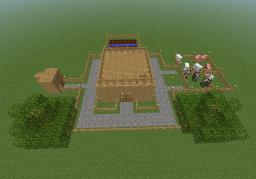 survival in a flat world Minecraft Project