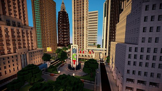 Modern city download minecraft project oukasfo minecraft world map mattupolis modern city project gumiabroncs Images