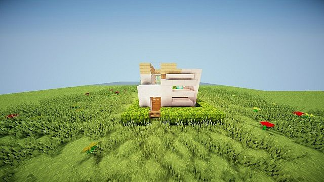 modern house 8x8 by lukejames99 minecraft project