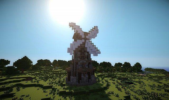 Windmill - Elys... Minecraft Windmill Farm