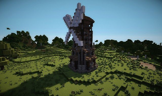 Windmill - Elysius Farm Minecraft Project