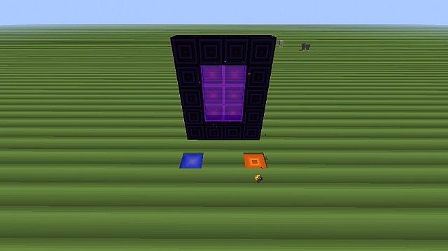 The liquids and the Nether portal!