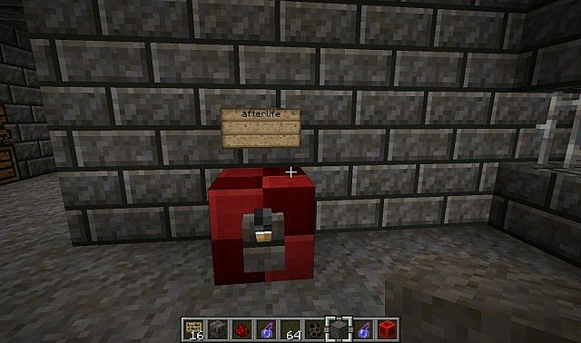 mob of the dead Minecraft Project