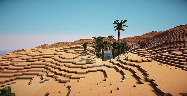 minecraft desert map