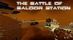 The Battle for Baldor Station | Fully explorable [ToTheStars Contest FINALIST!] Minecraft Map & Project