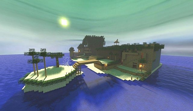 Destiny Islands (Kingdom Hearts) Minecraft Project