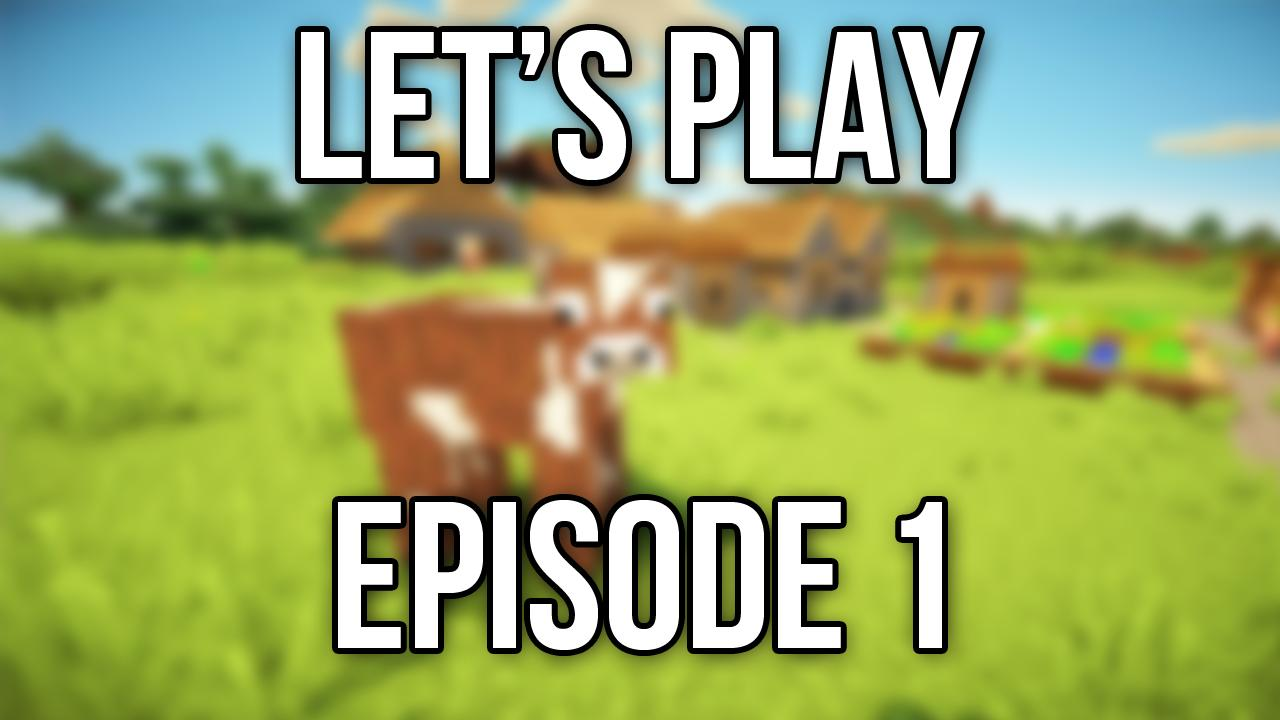 Minecraft Episode 1 Minecraft Blog