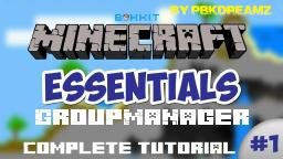 Group Manager Complete Tutorial Minecraft Blog Post