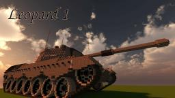 Leopard 1 tank Minecraft
