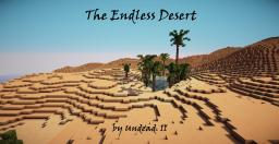 The Endless Desert Survival [Custom Map] Minecraft Map & Project