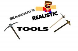 Marchio's Realistic TOOLS Pack Minecraft Texture Pack