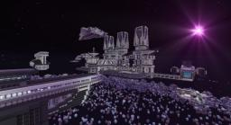 Asteroid Mining Station Minecraft