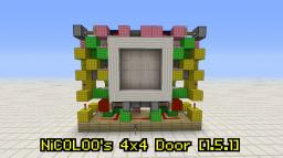 NiCOLOO's 4x4 Door for 1.5.1 Minecraft Project