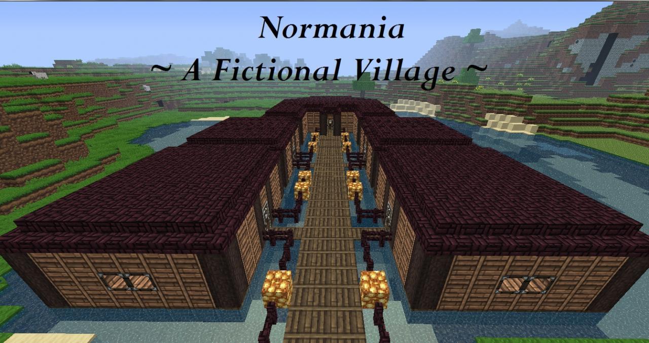 Marine Fishing Village Minecraft Project