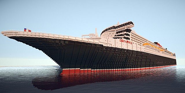 Queen Mary 2 Texture Pack 512 X 512 Minecraft Texture Pack