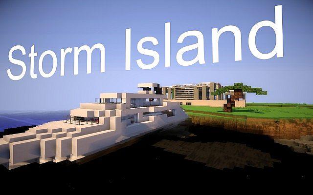 Modern Houses   Storm Island / Moderne Häuser   Sturm Insel