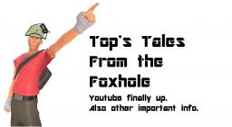 Top's Tales From the Foxhole! (updates, drawings, youtube, etc) Minecraft Blog