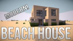 Modern | Beach House - Your Own Home! Minecraft Project