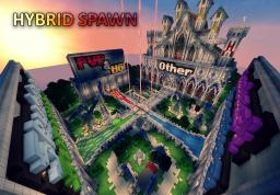Hybrid Server Spawn Minecraft Map & Project