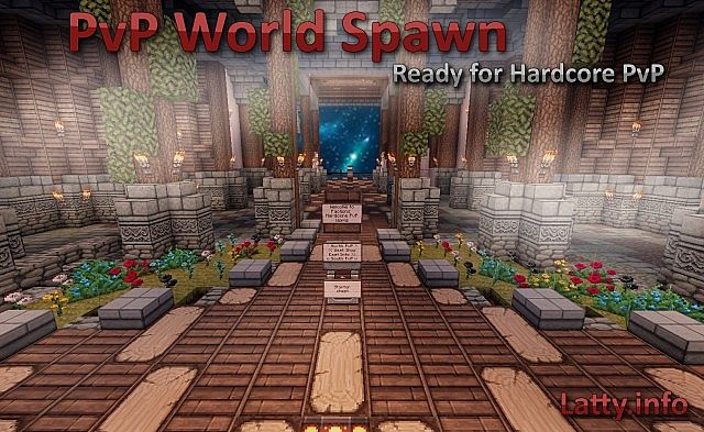 Hardcore Pvp Spawn Minecraft Project