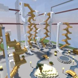 Indoor Water Park Minecraft
