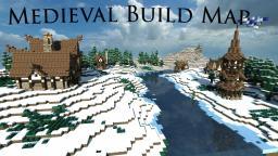 Minecraft Medieval Village/Build Map Minecraft Project