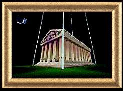 The Parthenon Full scale Replica + Download Minecraft Map & Project