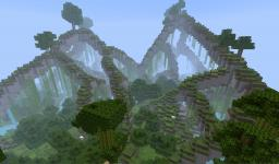 Floating Caverns Biome Minecraft Map & Project