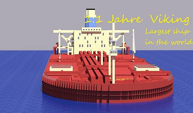 Jahre Viking - Largest ship in the world! Minecraft Project