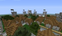 Castle Town+download Minecraft Project