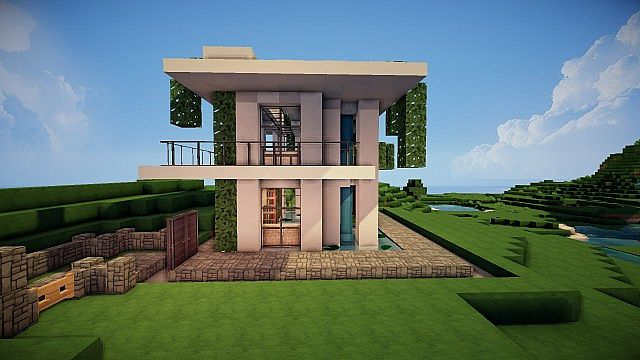 Дом в майнкрафте дизайн