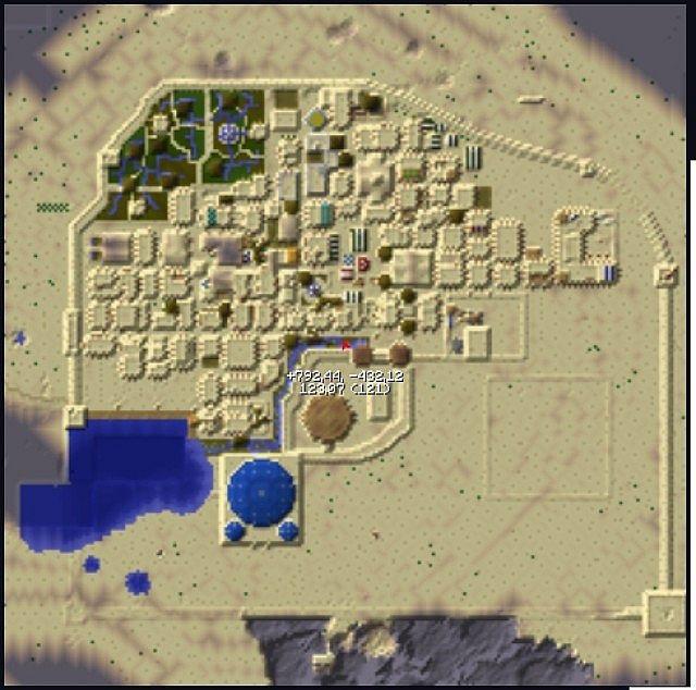 Shiraz (desert City) Minecraft Project