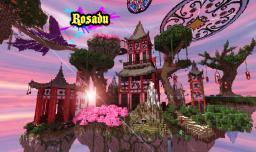 Rosadu (Half a million blocks!) Minecraft Map & Project