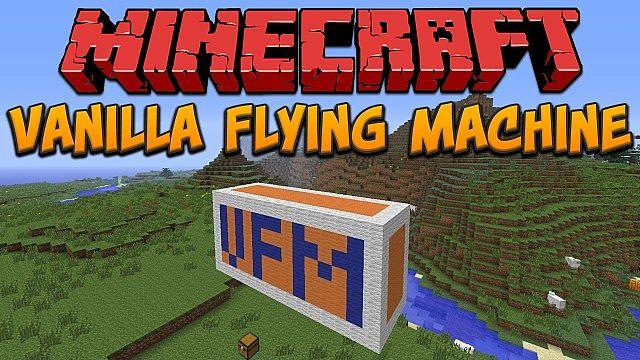 flying machine minecraft