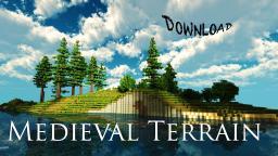 Minecraft Medieval Terrain & DOWNLOAD Minecraft Map & Project