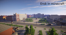 Ensk. World of Tanks Minecraft Map & Project