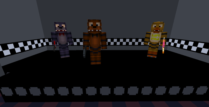 Five Nights At Freddy S Mod Version 1 12 2 Minecraft Mod