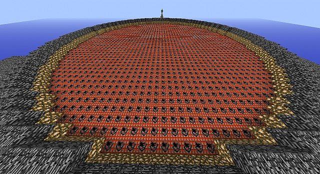 Minecraft Spleef Map
