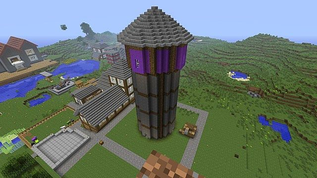 Enchanting Tower Minecraft Project