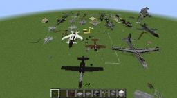 Aircraft Museum Minecraft Map & Project