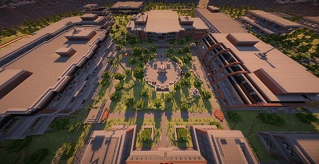 Valleyside University [Official MCSG Map] [Survival Games]