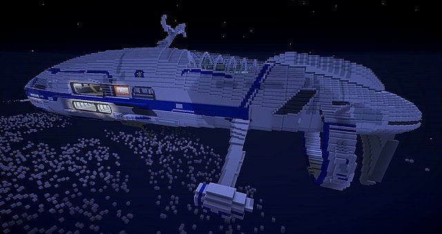 космические корабли карта в майнкрафт #6