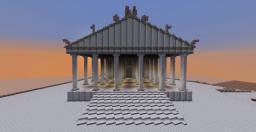 Temple of Jupiter Optimus Maximus Minecraft Map & Project