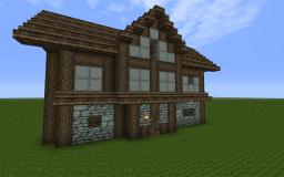 Stone House #1 Minecraft Map & Project