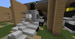 Greenfield Railroad museum steam collection Minecraft Project